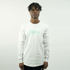 Phantom Crew Neck - White/Teal