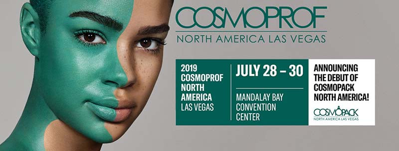 Cosmoprof Las Vegas 2018 - Leah Todd Co-Founder, Brand Manager