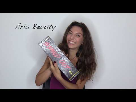 "Aria Beauty 1"" Rose Gold Infrared Ceramic Hair Straightener"