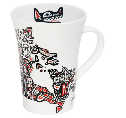 "Tasse "" Our Home and Native Land "" de Jennifer Adomeit"