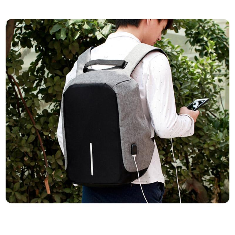 Anti Theft Backpack with USB Charger