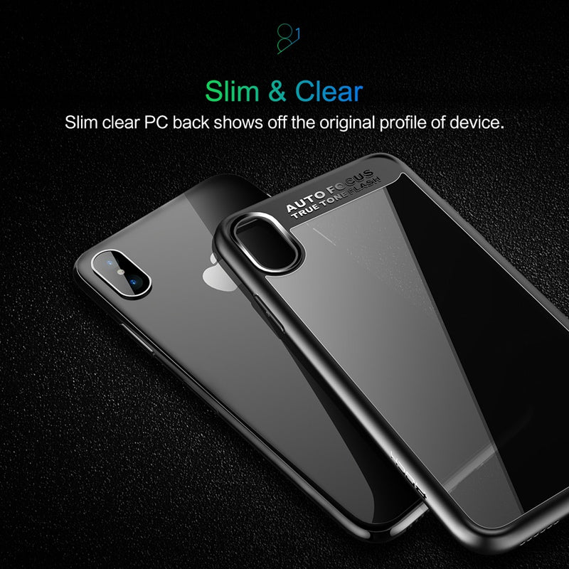 Slim iPhone X full protection case