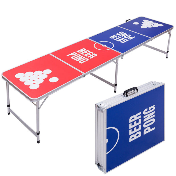 Beer Pong Table - 8FT portable and folding.