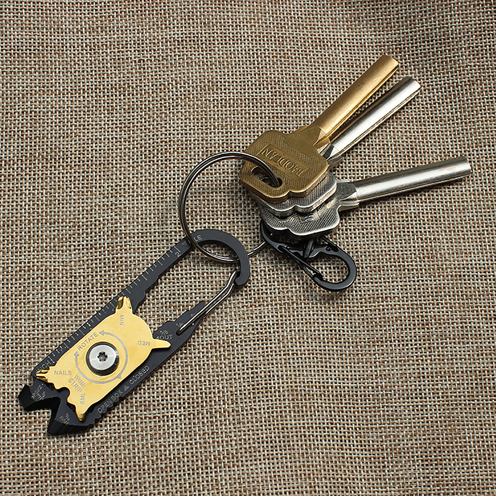 20 in 1 Multitool Keychain