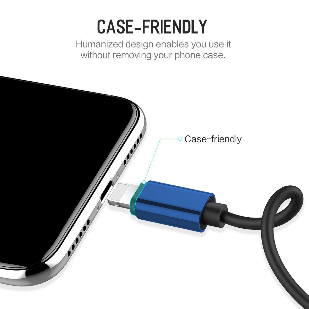 iPhone Lightning Cable Splitter - Two Lightning Ports