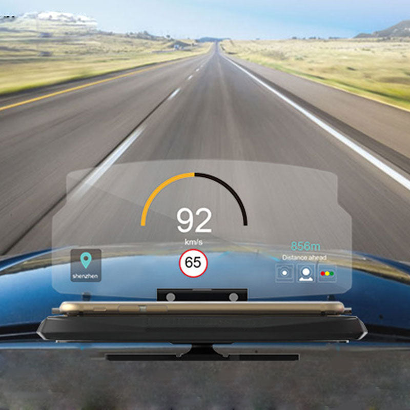Car HUD for Smartphones