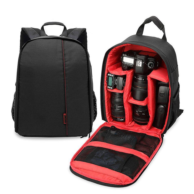 DSLR Camera Backpack - Water- and shockproof