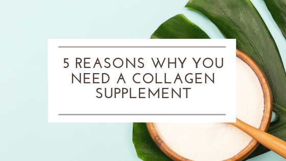 5 Reasons why you should take collagen peptides