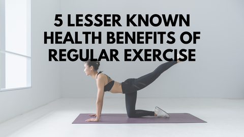 5 Lesser Known Health Benefits Of Regular Exercise