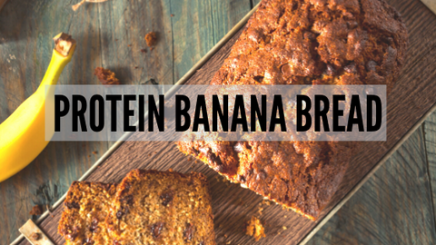 High protein banana bread recipe