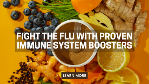 Fight the flu with immune system boosters