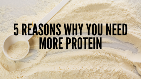 5 Reasons Why You Need More Protein