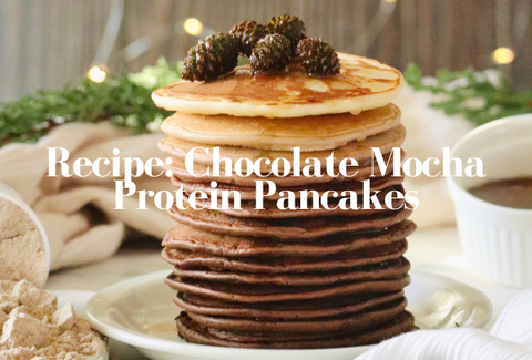 Chocolate Mocha Protein Pancakes Recipe