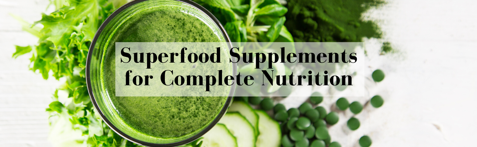BioHealth Nutrition - Organic Superfood Supplements Powders