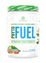 Phyto Fuel Supergreens + Fiber + Probiotics