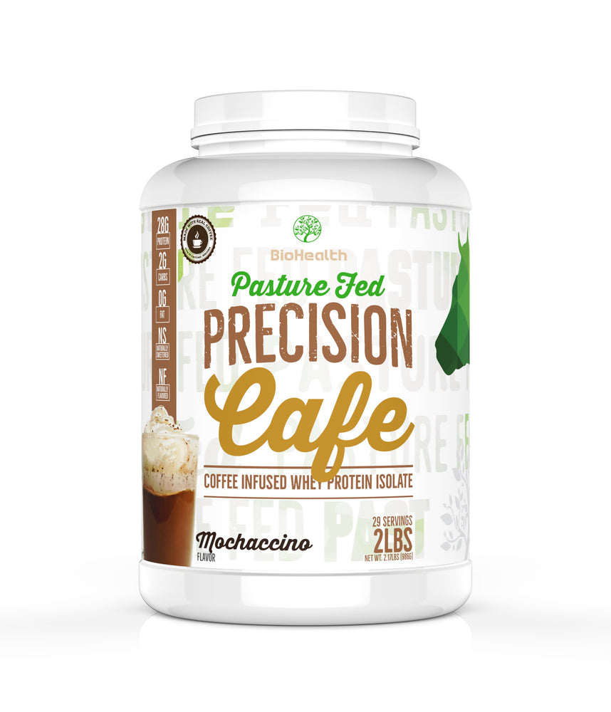 SPECIAL EDITION: Precision ISO CAFE Protein (Real Caffeine) - BioHealth Nutrition