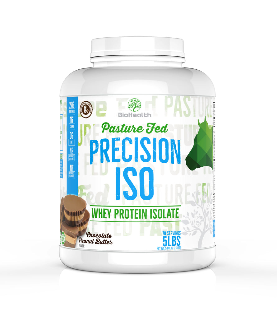 Precision ISO Protein Chocolate Peanut Butter - BioHealth Nutrition