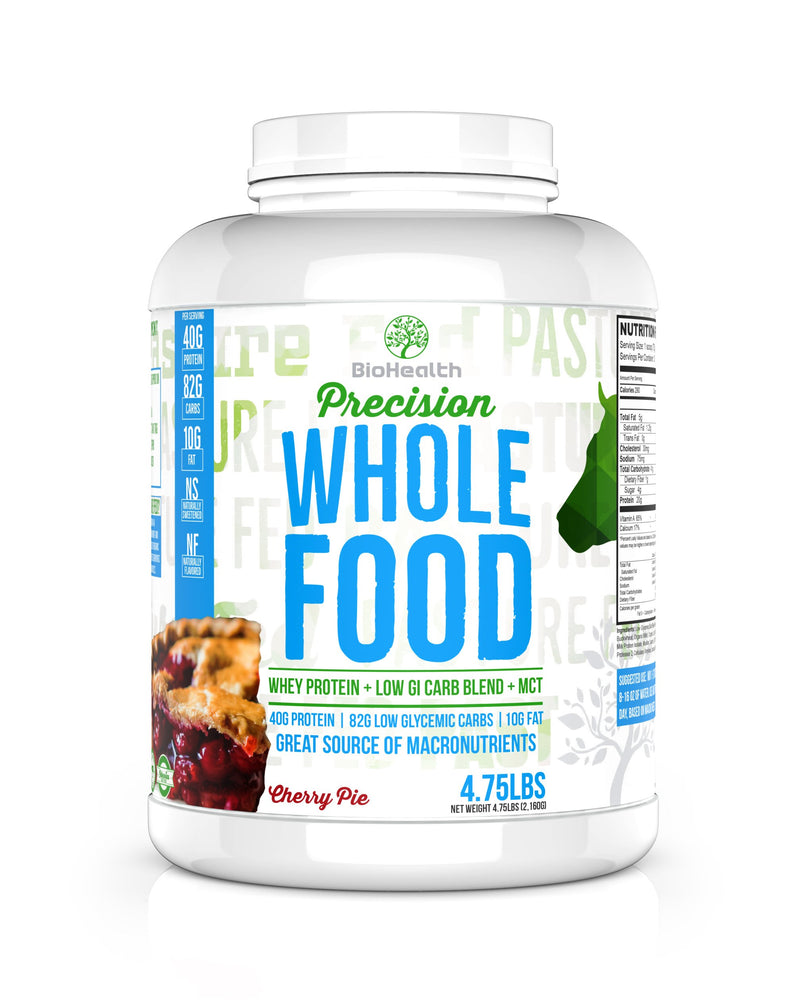 BioHealth Nutrition Supplements - Precision Whole Food Meal Replacement Protein Cherry Pie