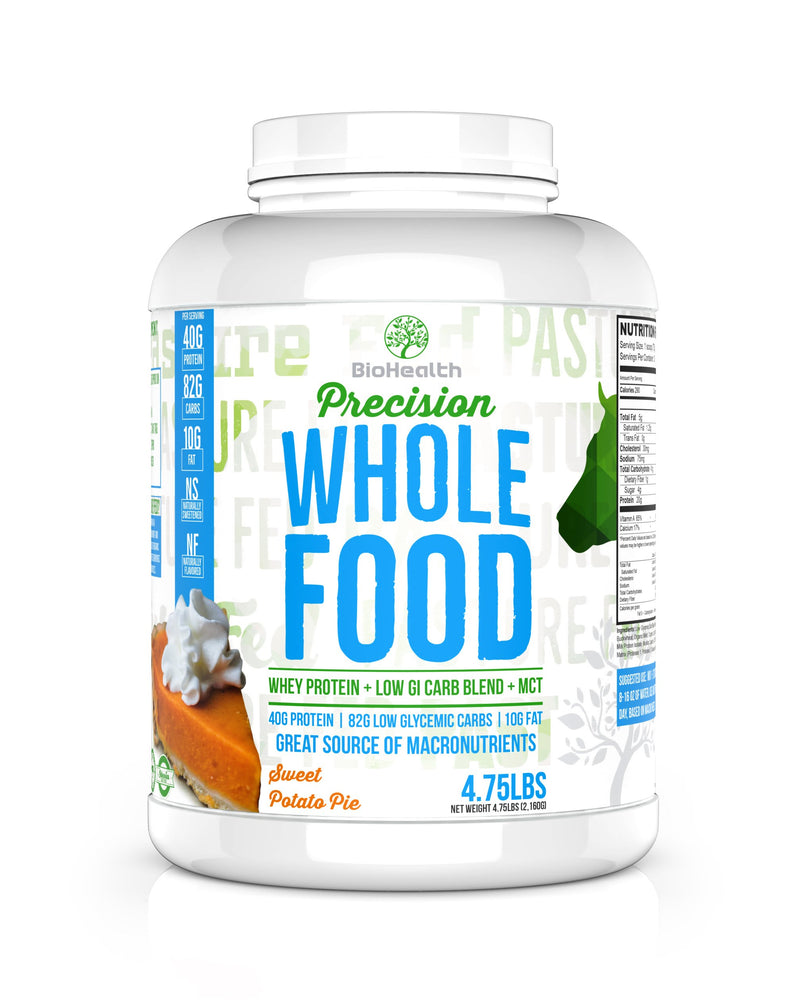 BioHealth Nutrition Supplements - Precision Whole Food Meal Replacement Protein Sweet Potato Pie