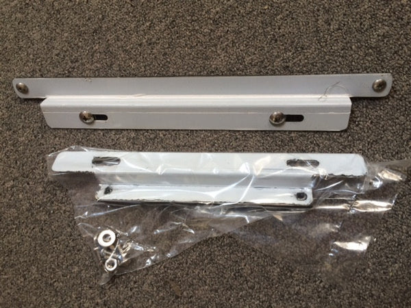 190SL Front and Rear License Plate Brackets