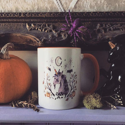 PSL Unicorn Halloween Mug- Exclusive- Enchantment Box X Olivia Faust