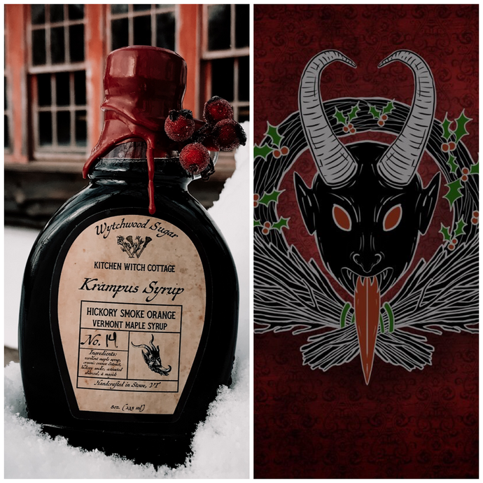 Krampus Kollection Pin/Syrup Combo