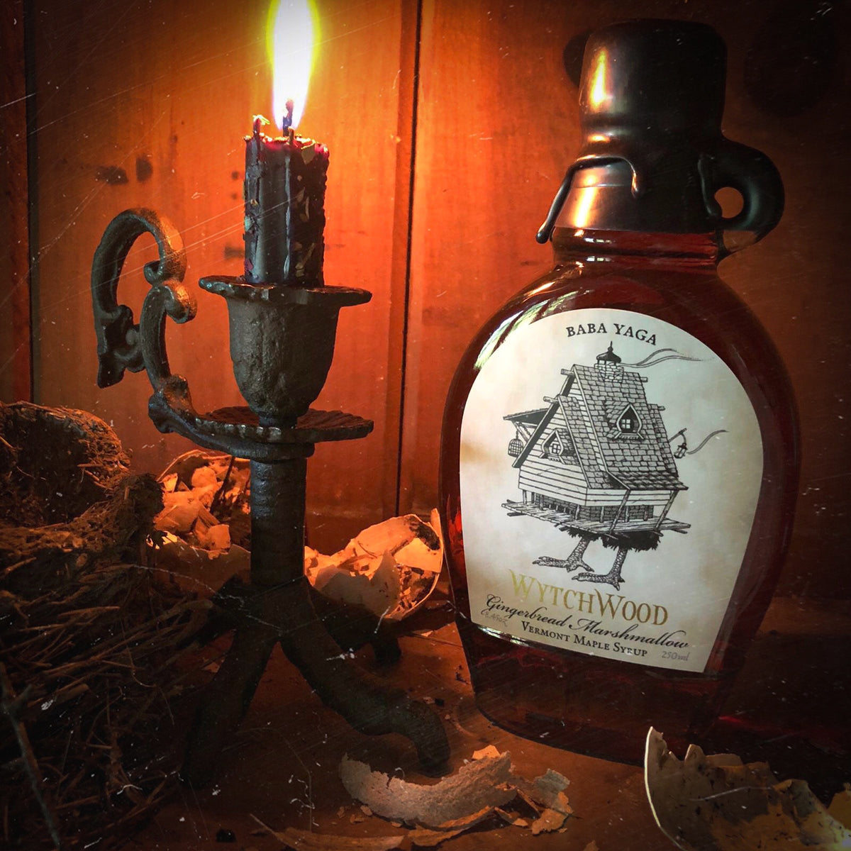 Baba Yaga: Gingerbread & Marshmallow Infused Maple Syrup