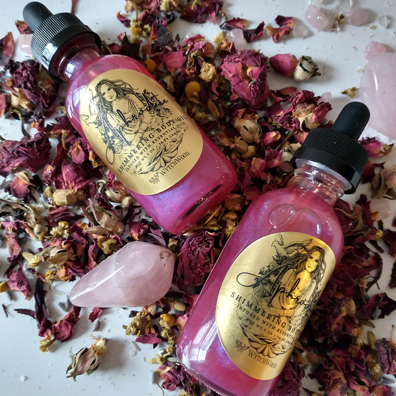 WytchWood Aphrodite's Love Potion Body Oil 2oz