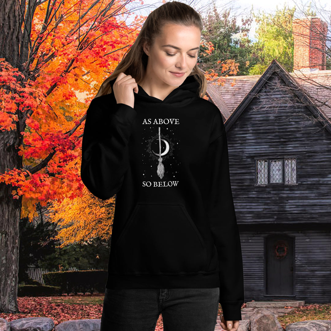 WytchWood As Above So Below Unisex Hoodie