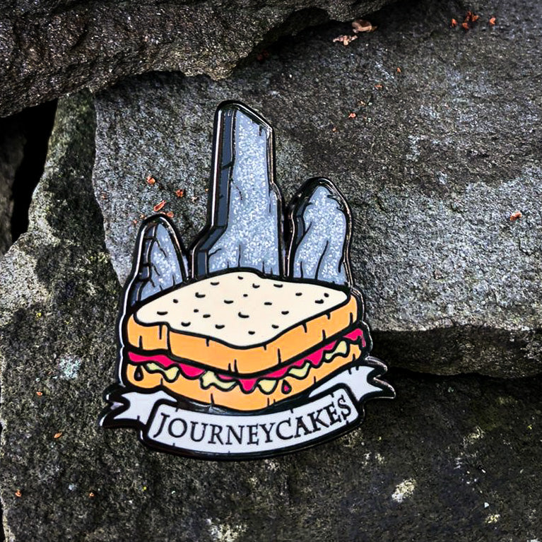 Journeycakes Enamel Pin