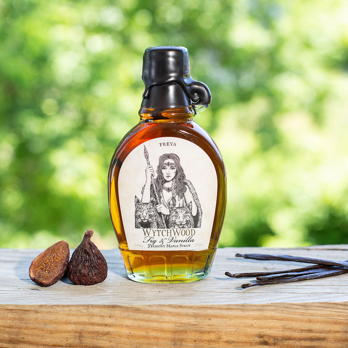 Freya: Fig & Vanilla Infused Maple Syrup