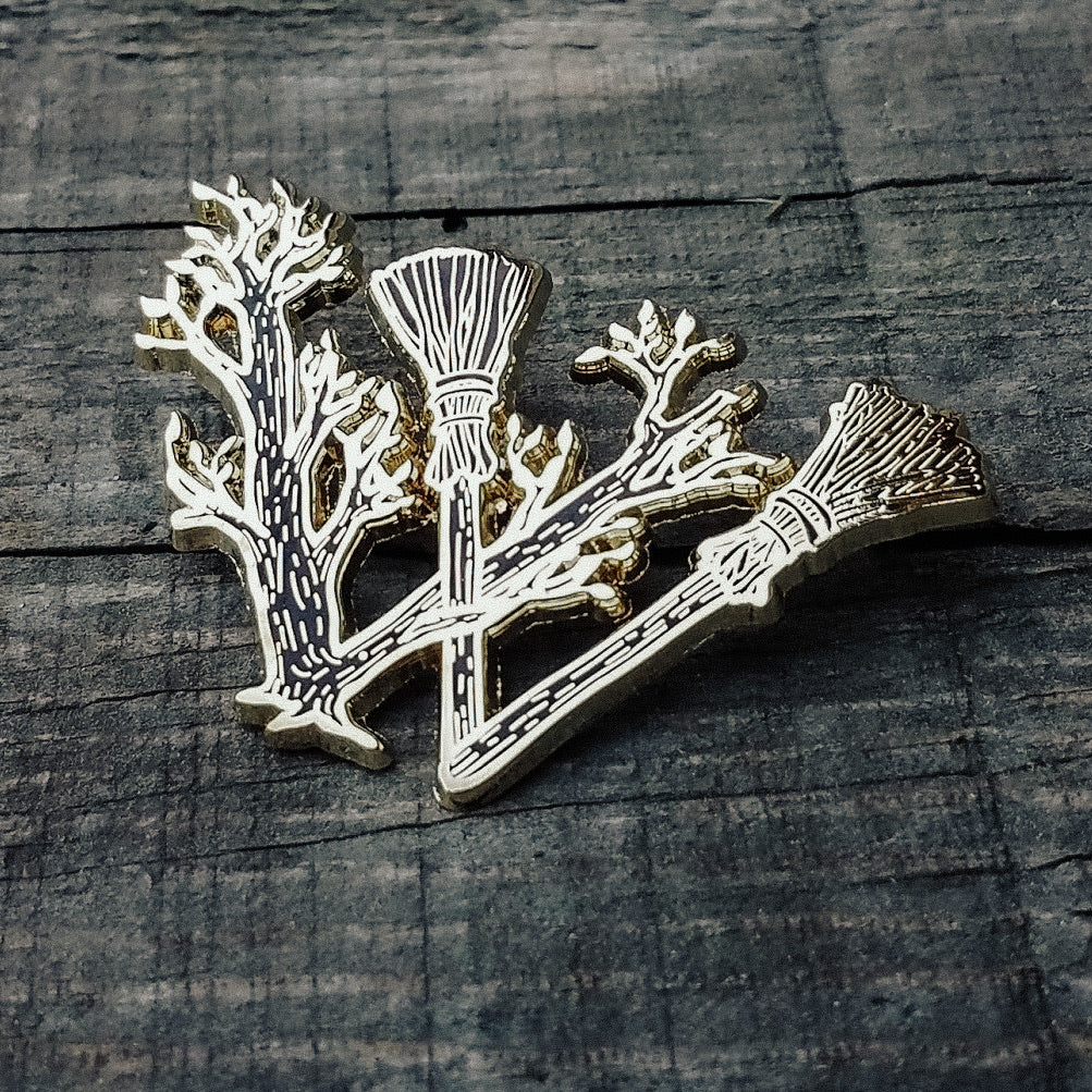 Wytchwood Logo Pin