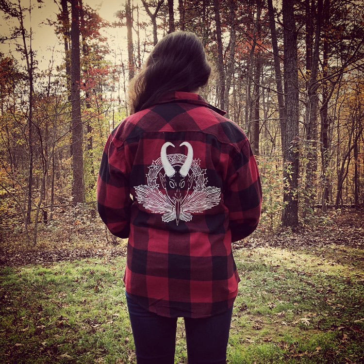 Krampus Flannel X The Pickety Witch