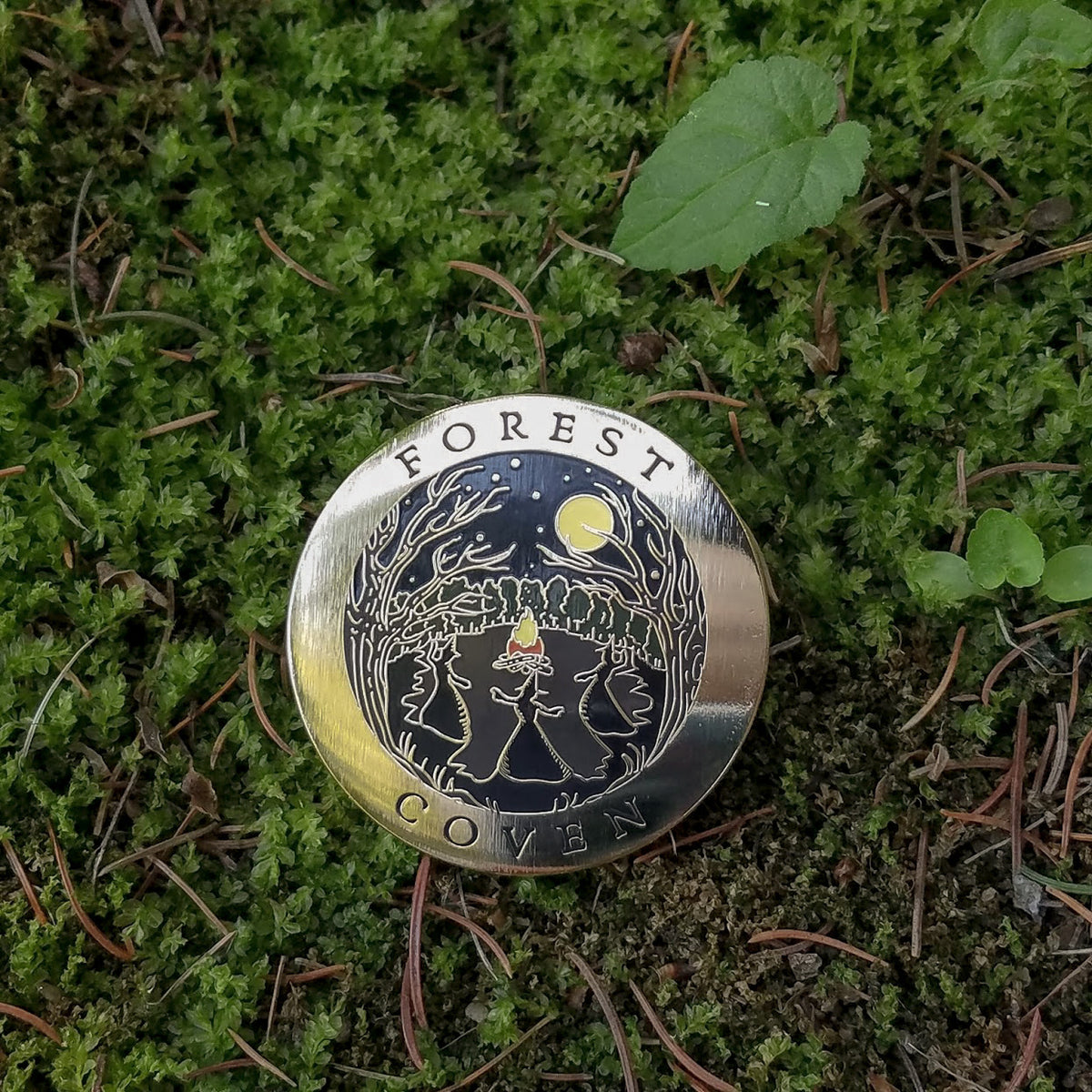 Forest Coven Enamel Pin