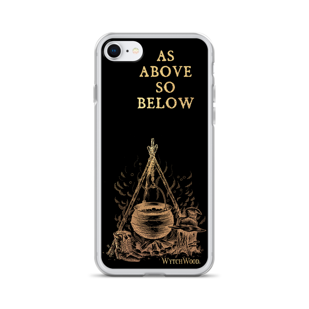 WytchWood As Above So Below iPhone Case