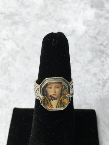 Bijou Graphique Birth of Spring Adjustable Ring