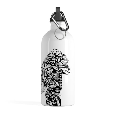 Stainless Steel Gorilla Vegan Water Bottle