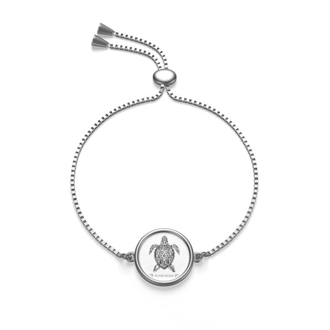 Box Chain Island Vegan Turtle Bracelet