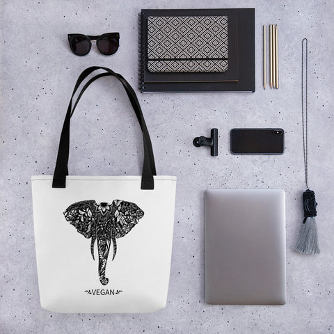 Master Vegan Elephant Tote bag