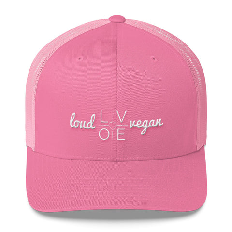 Loud Vegan is LOVE Trucker Cap