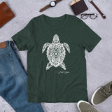 Loud Vegan Island Turtle Signature Series Short-Sleeve T-Shirt (unisex)