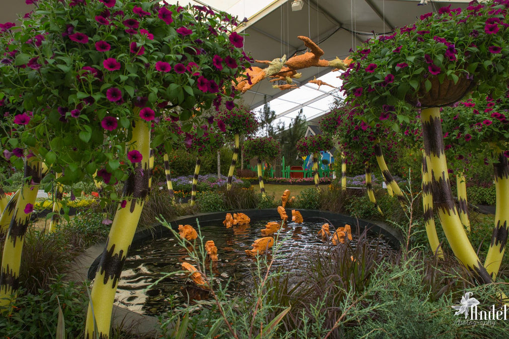 Marnée's Studio successfully completes Festival of Flowers display for Bellingrath Gardens