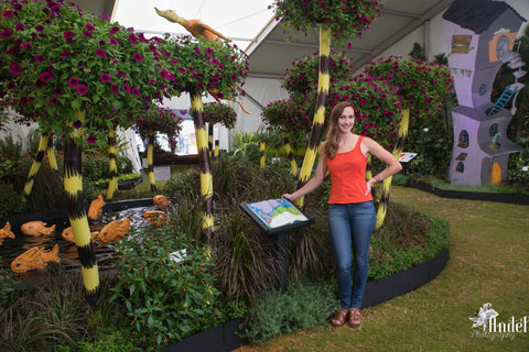 Bellingrath Gardens Festival of Flowers Display by Marnée Wiley