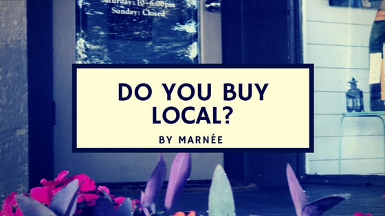 Marnée's Studio Wants to Know, Do you Buy Local Mobile, Alabama?