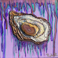 Elizabeth's Oyster Painting by Renee Wiley Edwards