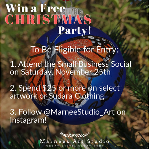 Private Event Contest at Marneée's Studio in Mobile, Alabama