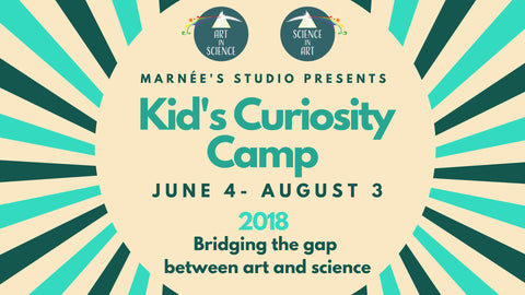 Kid's Curiosity Camp at Marnée's Studio (Summer 2018)