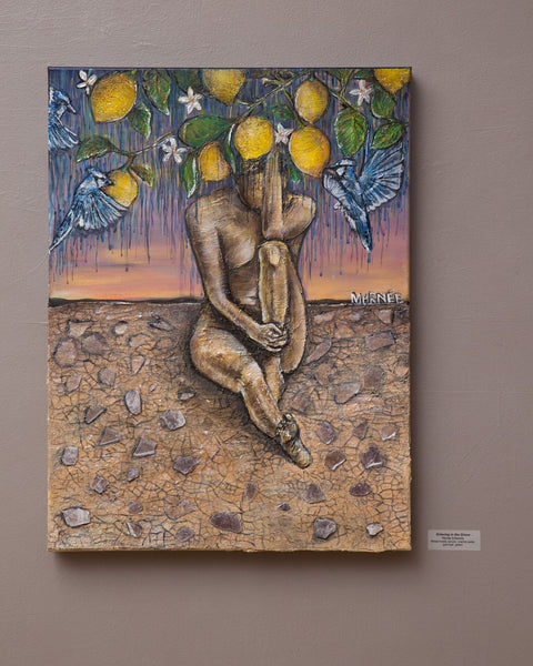 """Grieving in the Grove"" Original Painting"