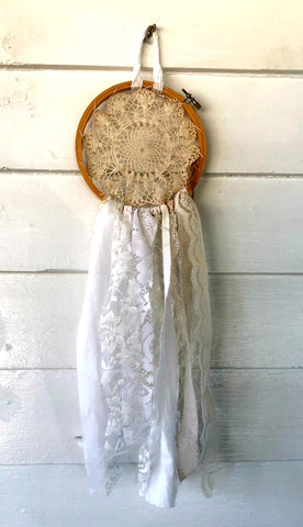 Lace Doily Dreamcatcher