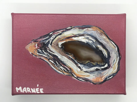 Maeve Oyster Painting